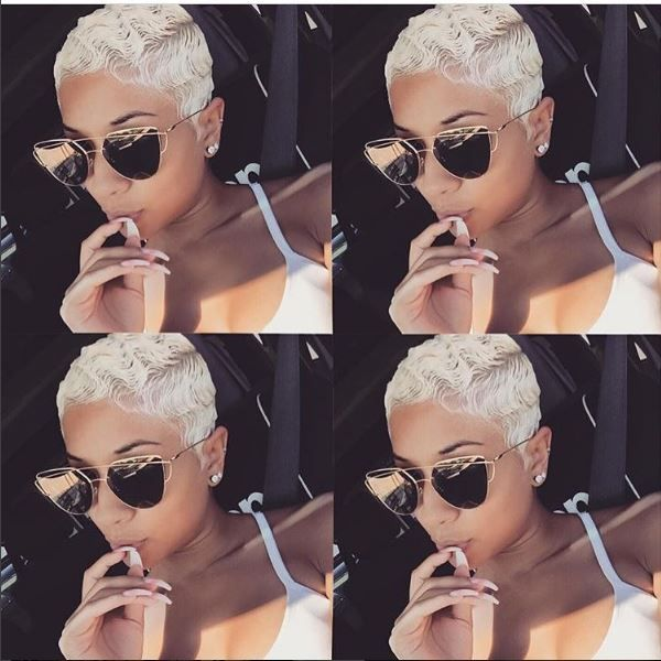 8 Platinum Bomb Shells Slaying Short Cuts This Summer [Gallery]  Read the article here - http://www.blackhairinformation.com/general-articles/playlists/8-platinum-bomb-shells-slaying-short-cuts-summer-gallery/