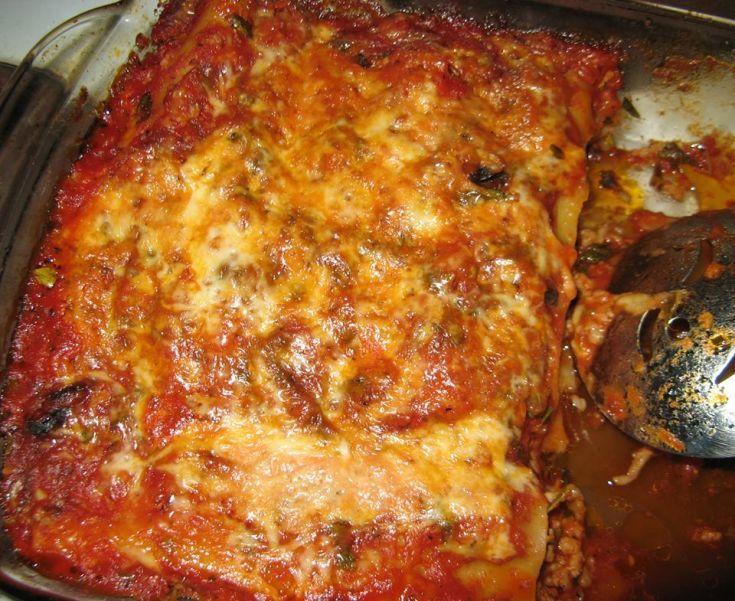 Domáce lasagne