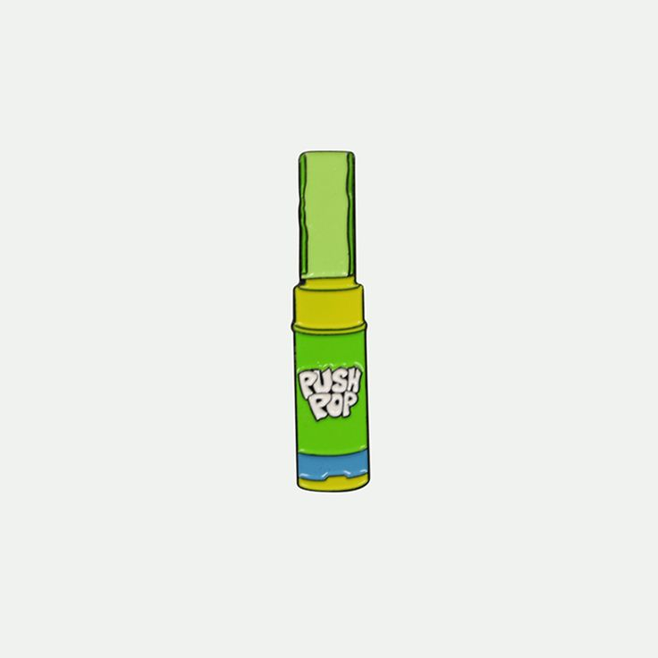 Push Pop Green Pin