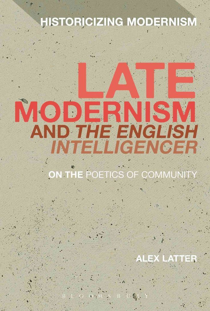 Late Modernism and The English Intelligencer: On the Poetics of Community
