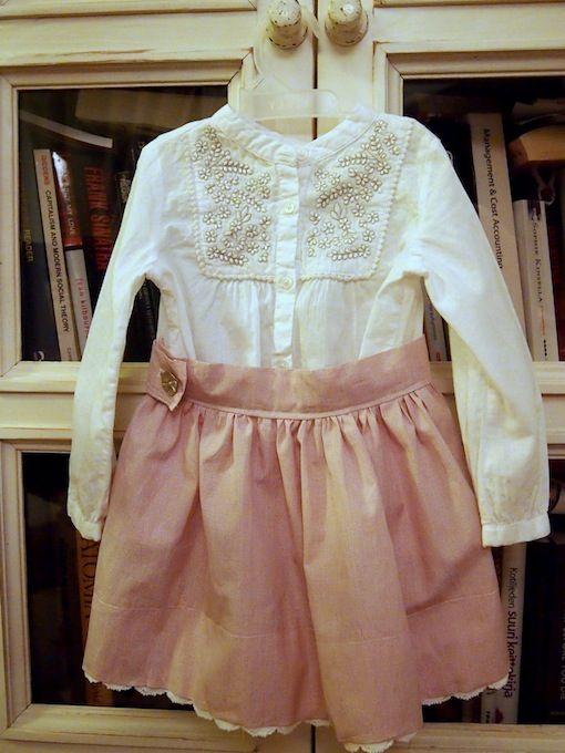Skirt by Nona K. top Zara.