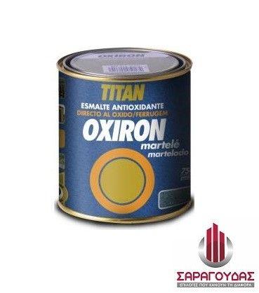 Αντισκωριακό Σφυρήλατο Χρώμα Oxiron Martele Titan - saragoudas.gr