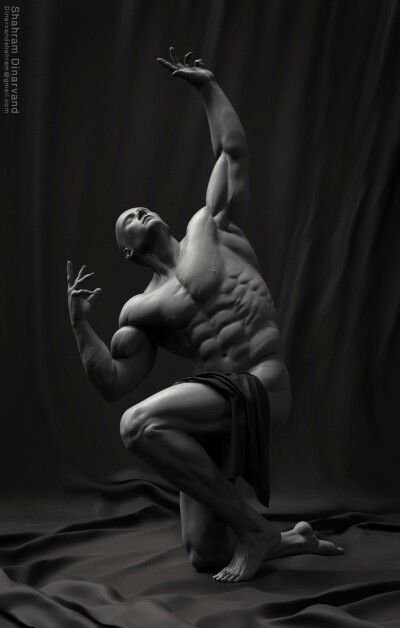 #anatomy#pose#3dmodeling#3dcharacter#Zbrush#3dmax#maya#Sculpt#3dmodeler#Sculptor#fantasy#fun#render#keyshot#character#shahramdinarvand#Animation#Render