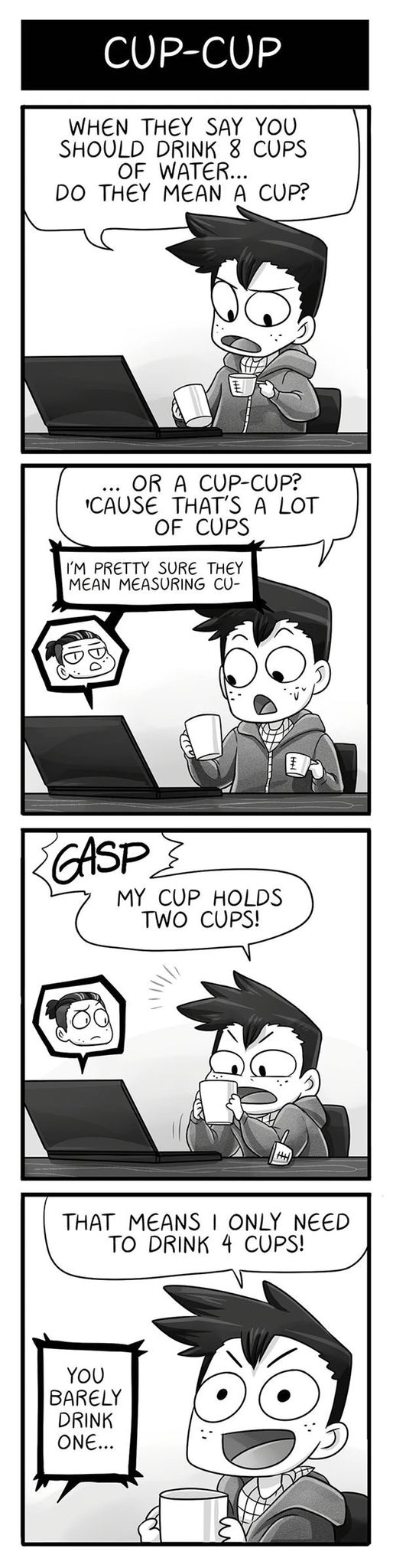 Cups of water XD