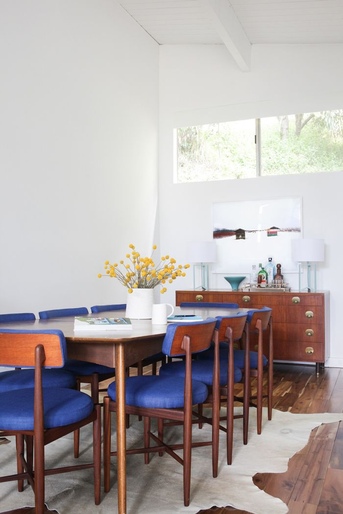 find this pin and more on dining spaces - Blue Dining Room Furniture