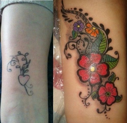 Pinterest the world s catalog of ideas for Wrist tattoo cover ups