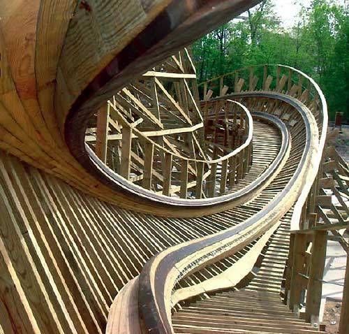 prowler roller coaster - Worlds of Fun - Kansas City, Missouri