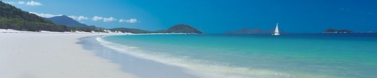 Cannot wait to get here... Whitehaven Beach in the Whitsundays.  Just hope that the tax rebate comes through