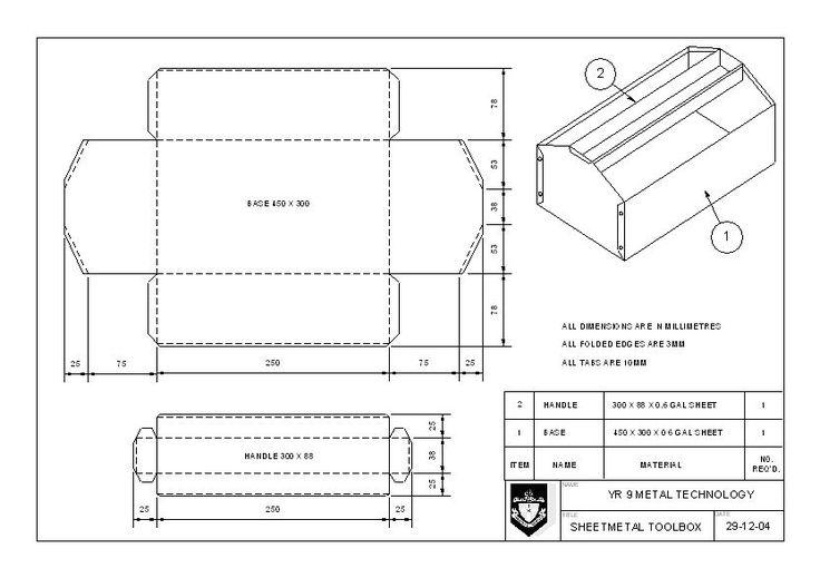 sheet metal tool box plans Quotes