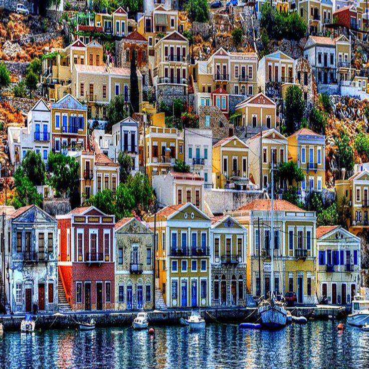 Simi island Greece