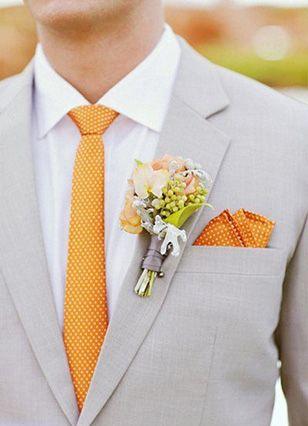 #Orange #Wedding Theme Ideas   CHWV