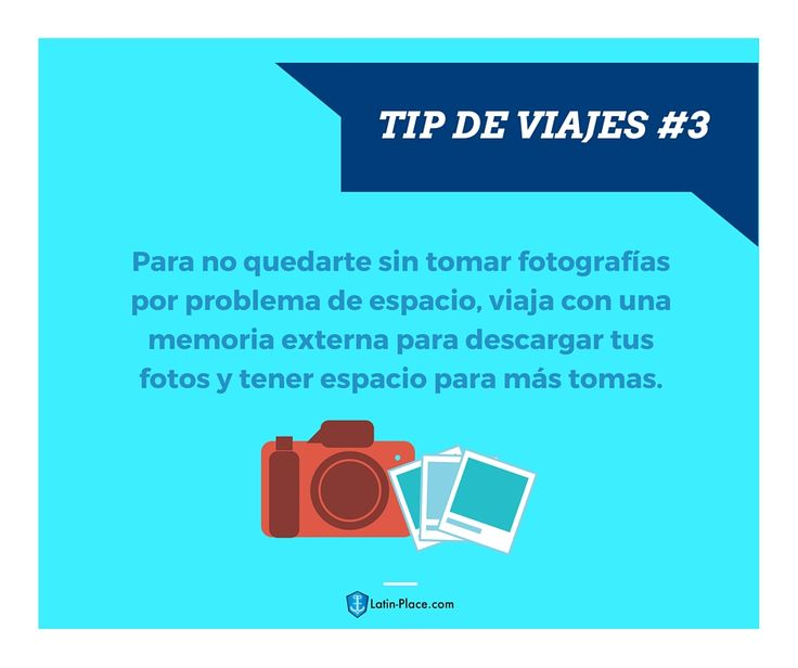 Tip de viajes #3 - Latin-place.com #tipsdeviajes #viajes #traveltips #traveling