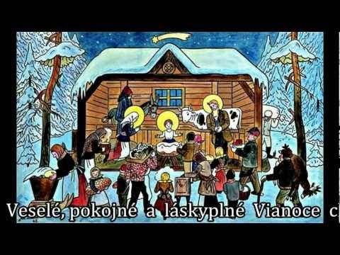 Prianie k Vianociam a Novému roku (obrázky - Jozef Lada).avi