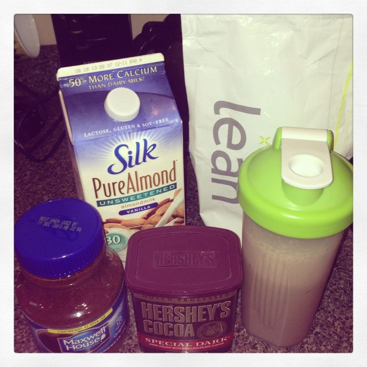 MUST TRY! Breakfast mocha OR post-exercise recovery: 1 scoop 44 cal. lean unique protein, 1 cup vanilla unsweetened almond milk 30 calorie, 1 cup ice cubes, 1 tsp instant coffee crystals, 1 tsp unsweetened Hershey's dark chocolate cocoa powder. Shake vigorously in shaker for 1 minute or until completely blended. Delicious & packed w/vitamins, minerals & unique blend of 12 g usable proteins for extended absorption.