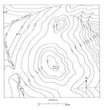 Resultado de imagem para curvas de nível topografia