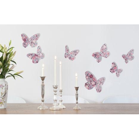 1000 id es sur le th me rose en origami sur pinterest for Decoration murale papillon 3d noir