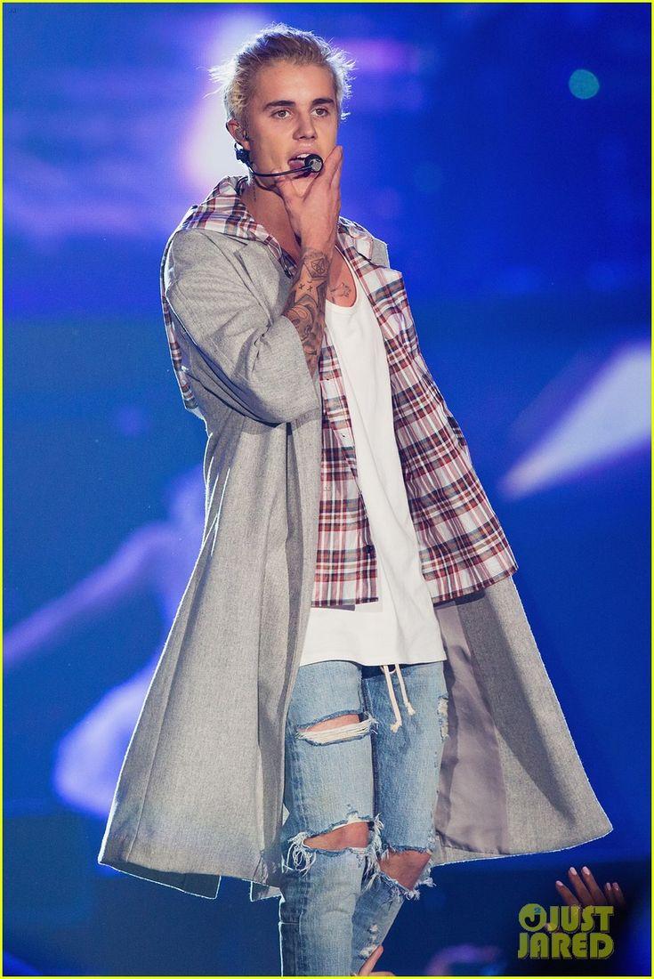 Justin bieber scrapbook ideas - Justin Bieber Begins Purpose World Tour In Seattle Peep The Complete Set List