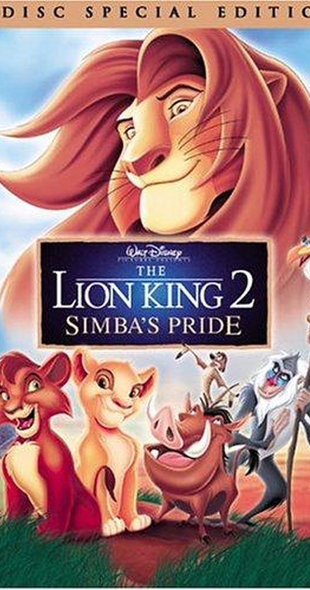 The Lion King 2: Simba's Pride (Video 1998)