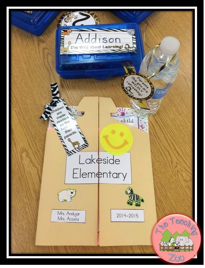 Back to School and Open House Ideas
