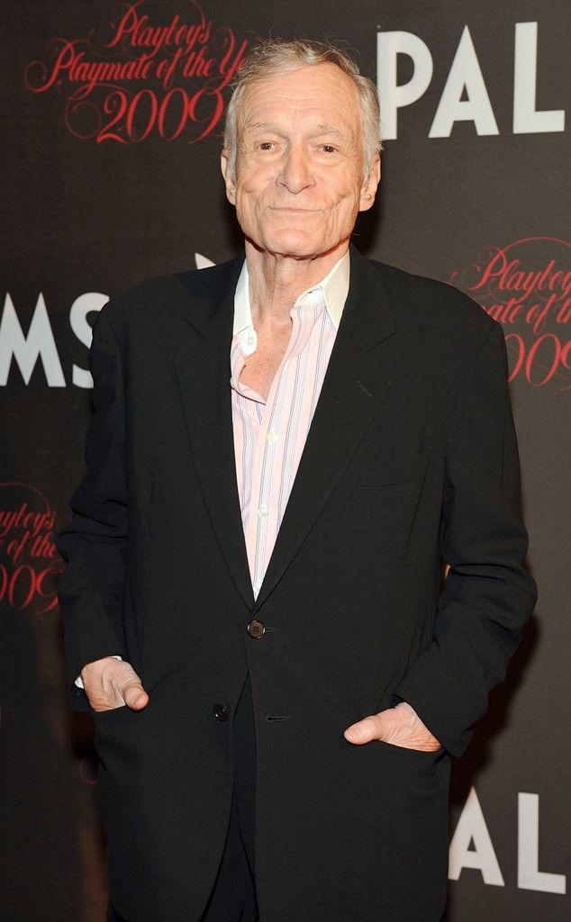Hugh Hefner from Celebrity Veterans  After graduating from high school in 1944, the Playboy magazine creator enlisted in the Army as an infantry clerk.