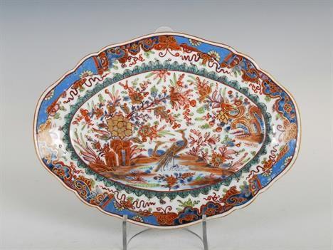 Travessa de carne em porcelana Chinesa, Dinastia Qing, 34,5cm X 26cm, 3,185 reais / 1,040 euros / 1,380 usd https://www.facebook.com/SoulCariocaAntiques