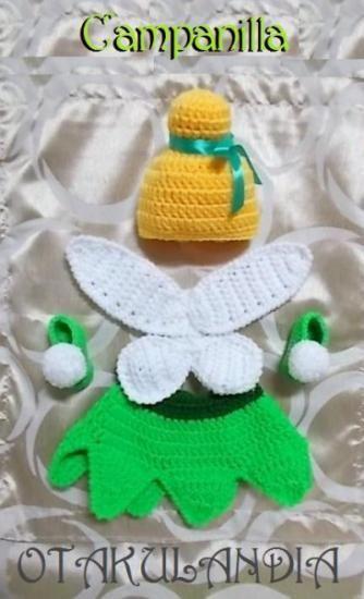 Campanilla (Tinkerbell) Cosplay (disfraz) para bebé recién nacido ¿quieres ver más? ¡Síguenos!: https://www.facebook.com/otakulandia.es/ ~K