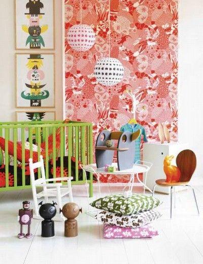 Pink Friday - Barnrum från sköna hem