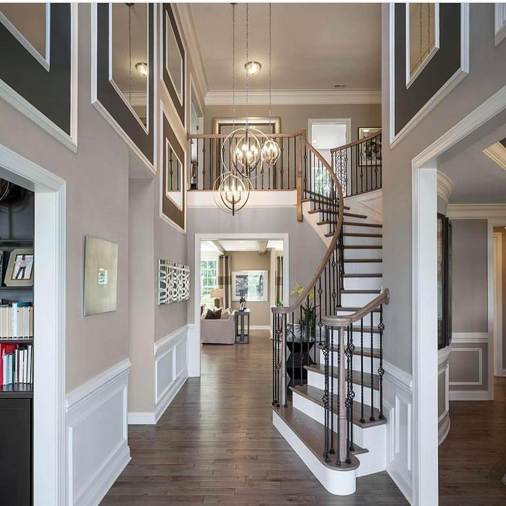 Entryway Stairs The Floor Design Homes Railings