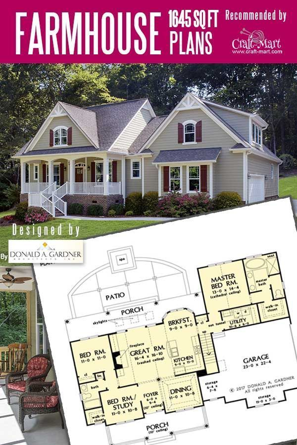 11 Amazing Small Farmhouse Plans For Tight Budget Craft Mart In 2020 Rustic House Plans Small Farmhouse Plans Farmhouse Plans