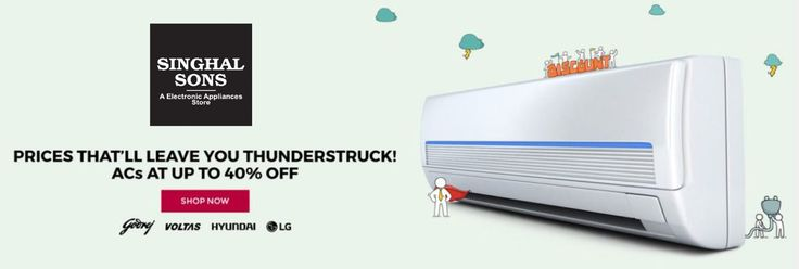 Upto 40% Off on #Sale on #air #conditioner. Cheapest Sale On #AC. #mansoon #offer #Samsung #Panasonic #Lloyd #Voltas
