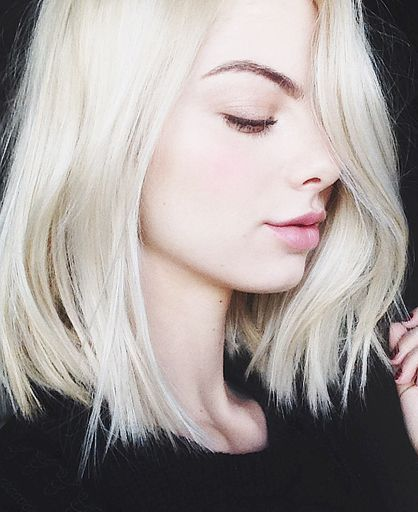 Best 25+ Pale blonde hair ideas on Pinterest | Pale blonde, Light ...