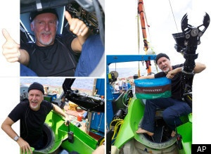 James Cameron Mission To Mariana Trench Mission Was 'Cut Short By Leak' - click for more: http://www.huffingtonpost.co.uk/2012/03/26/james-camerons-mariana-trench-cut-short-leak-_n_1379141.html?ref=uk