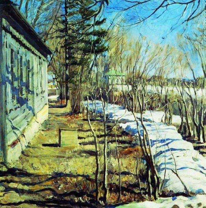 Виноградов С. А. Весна. 1911