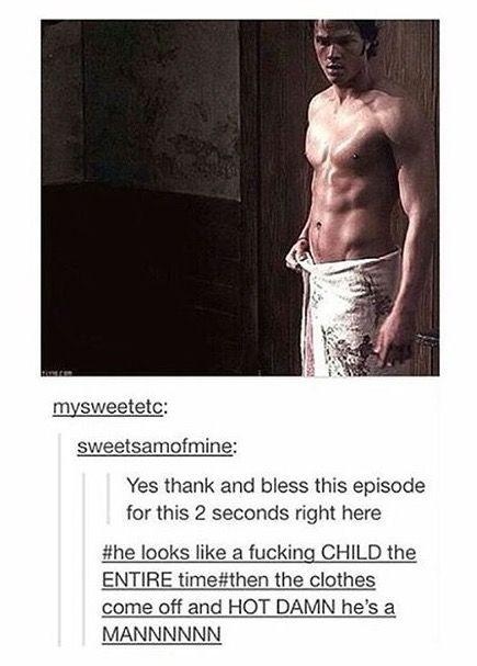 Jared Padalecki shirtless *_*