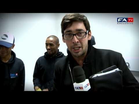 Ashley Cole, Gary Cahill, Jermain Defoe and Ryan Bertrand Keepy Uppy Challenge | FATV #KeepyUppy
