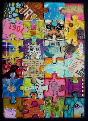 This week's DIY Tutorial will teach you how to recycle a puzzle into a one of a kind,collaborative piece of art! ArtFire.com brings you two altered puzzle projects with completely different…