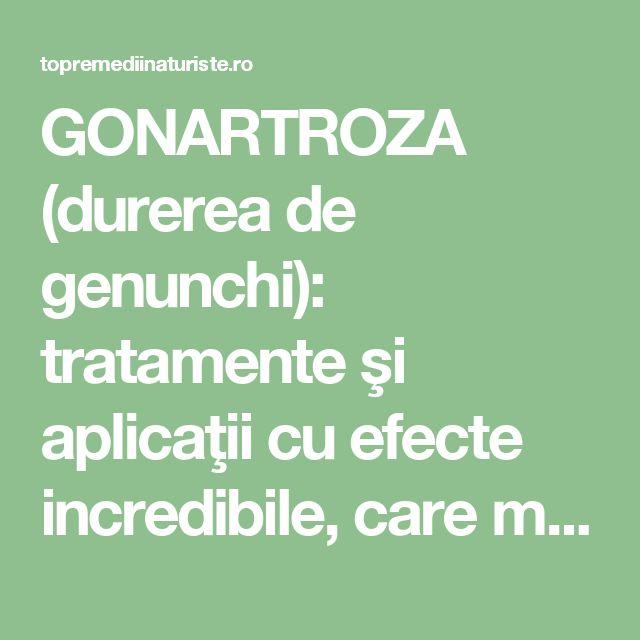 GONARTROZA (durerea de genunchi): tratamente şi aplicaţii cu efecte incredibile, care merită încercate - Top Remedii Naturiste