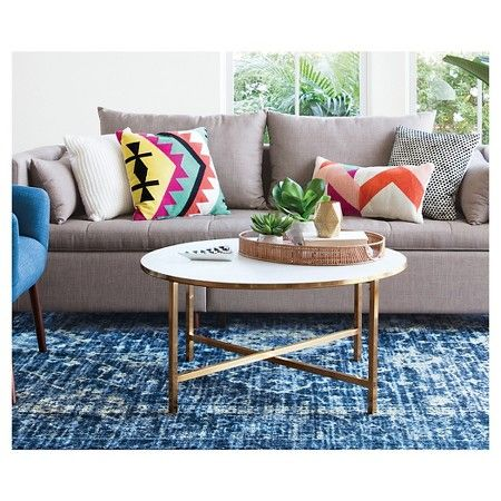 Target | Marlton Round Coffee Table - Threshold // orig $150, as of 6/20 sold out and $142. watch to see if re-stocked.