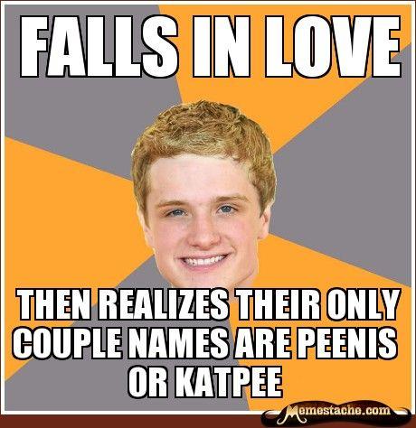 falls in love: Hunger Games Memes