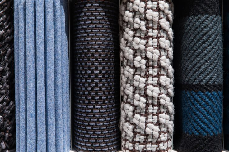 Close up of our new textile treasures shown at Stockholm Furniture Fair
