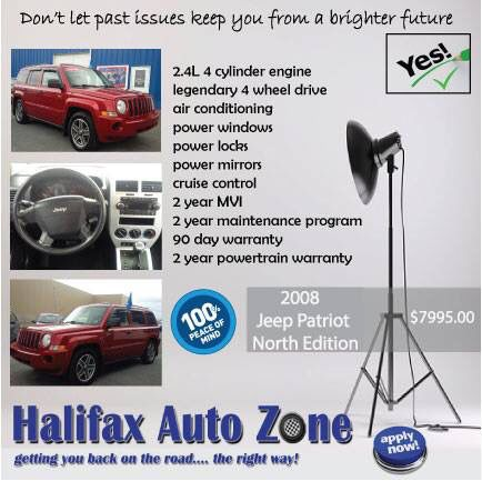 """We saw snow!! 4WD that is ready for the road and """"2 for You"""" approved #halifaxautozone"""