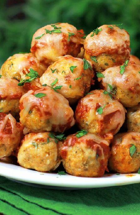 Low FODMAP Recipe and Gluten Free Recipe - Chicken meatballs