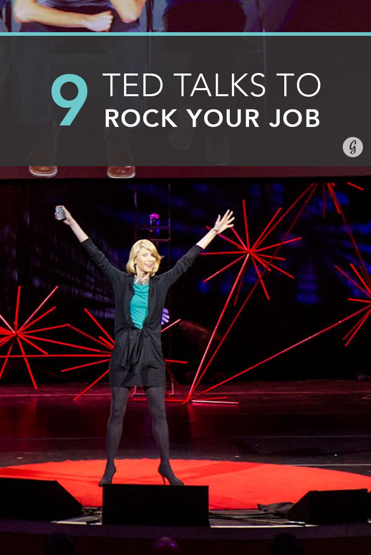 TED Talks to Help You Kick Ass at Work (and in Life) | Greatist