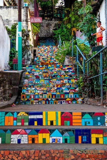 la escalinata - Loma San Jeronimo