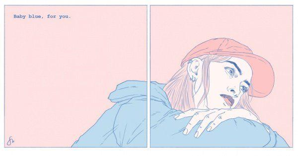 """""""Echar de menos"""" en las ilustraciones de Sarah Maxwell"""