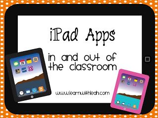 iPad Apps In and Out of the Classroom