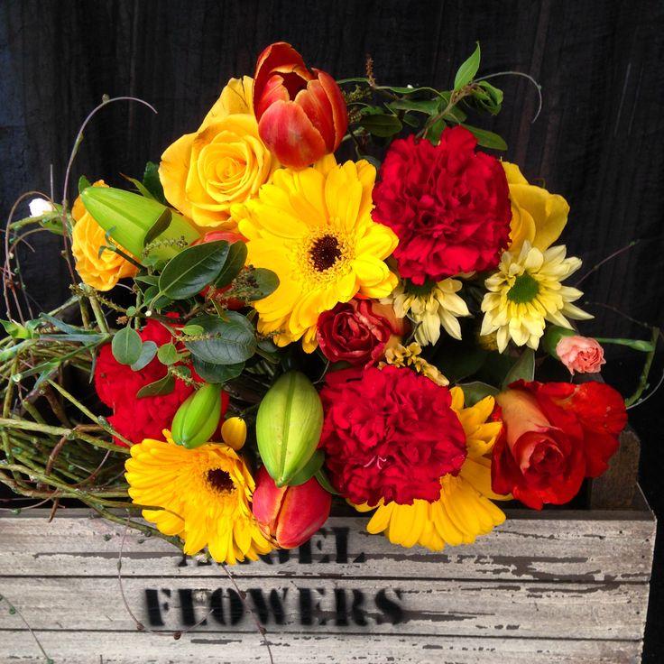 """colourful bouquet  """"Summer Dream"""" Adelaide delivery for all occasions"""