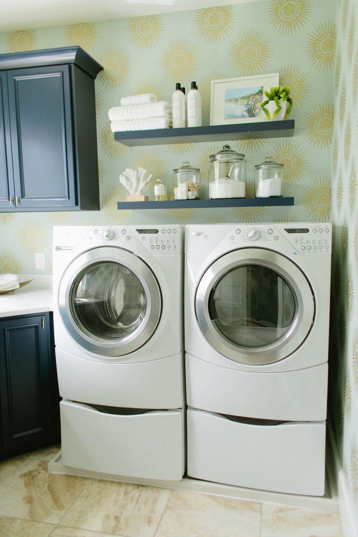 Waschküche Umarbeitungen, Schlamm Zimmer, Waschküchen, Waschküche Design,  Navy Schränke, Deko Ideen, Badezimmer Ideen, Bad Regale, Decor Ideas