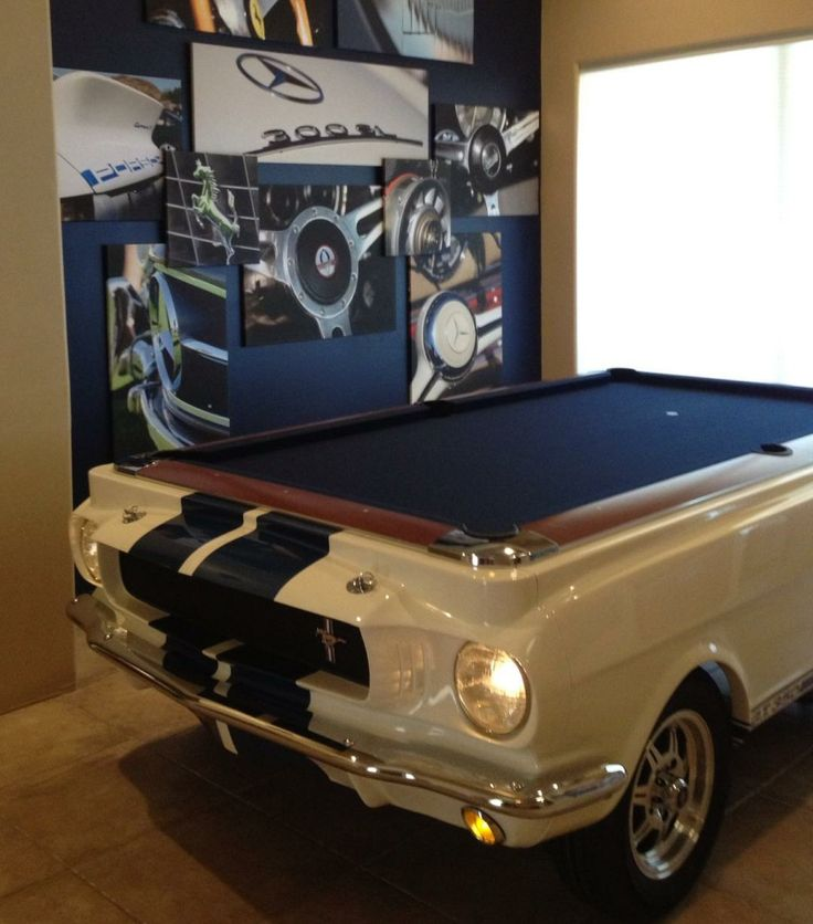 73 Best Images About Car Pool Tables On Pinterest