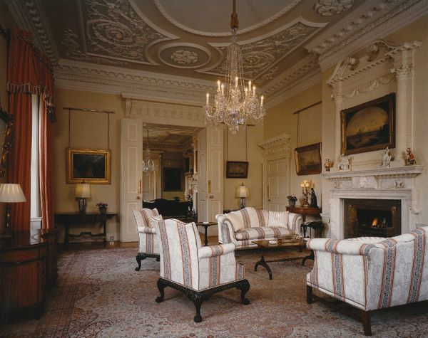White Drawing Room  Downing